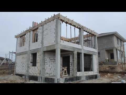 Строительство дома в Севастополе из газоблока, часть 3