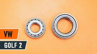 Urmăriți un ghid video despre înlocuire VW GOLF Rulment roata