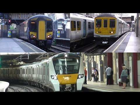 Thameslink Classes 319, 377 & 700 Trains Switching Power Supply at Farringdon & City Thameslink
