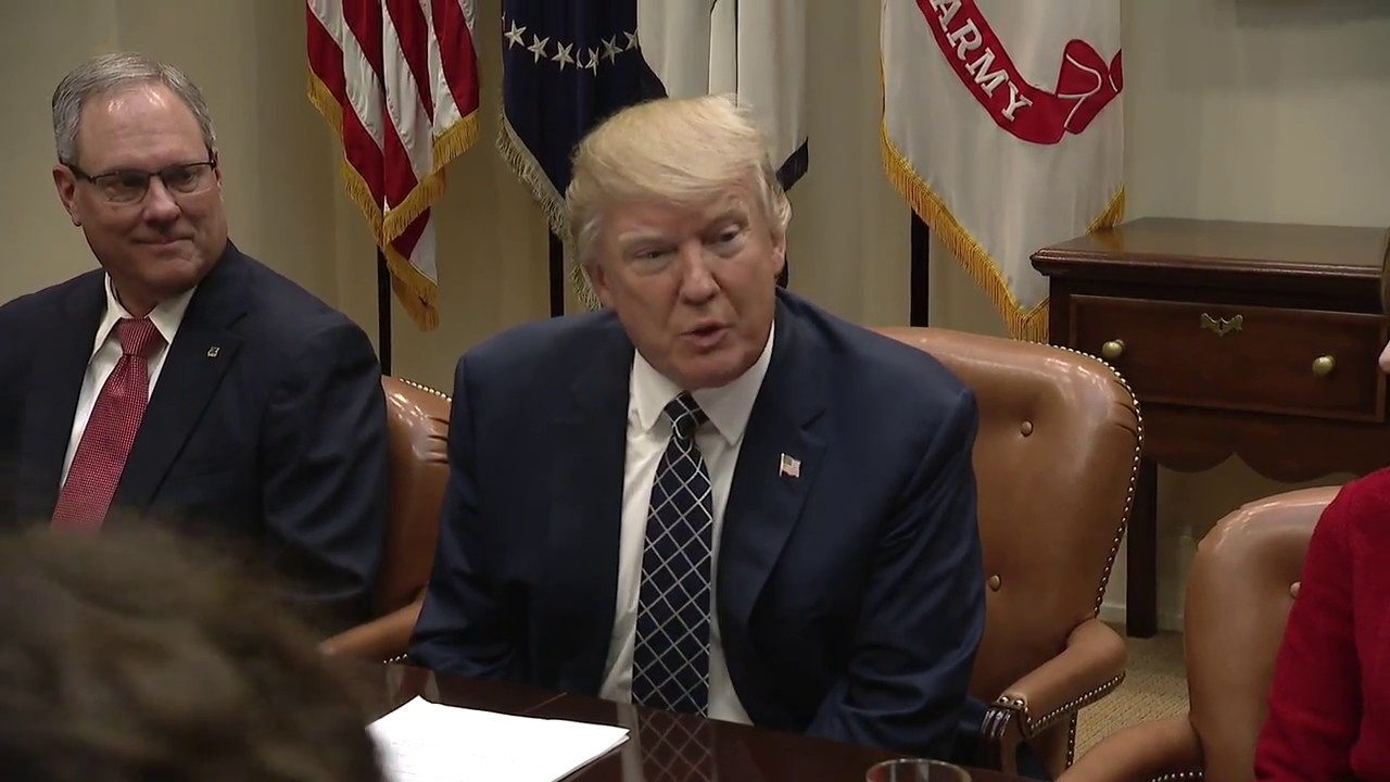 President Trump Leads an NEC Listening Session With CEOs of Small and Community Banks