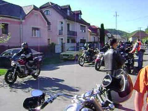 Motoros felvonulás. 2014.05.10. /2. Borsodszentgyörgy