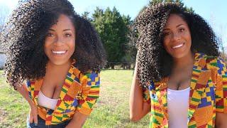 Freetress Bohemian Braid Crochet Hair Review Most Low Maintenance Crochet Hair Ever !! Lia ...