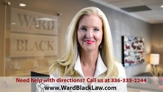 Directions to the Office of Ward Black Law in Greensboro