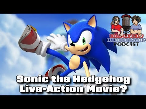 Sonic Live-Action Move on the Way? #CUPodcast