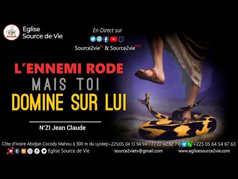 N'ZI JEAN CLAUDE |L'Ennemi Rode Mais Toi Domine Sur Lui