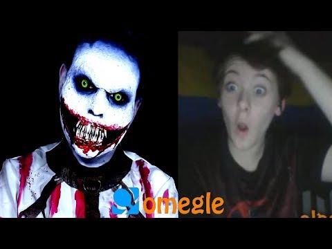 Asylum Jeff The Killer goes on Omegle!
