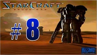 Прохождение StarCraft: Brood War - Terrans Campaign Gameplay Mission #8 - To Chain The Beast