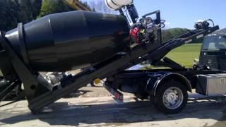 2 yard Concrete hook mixer