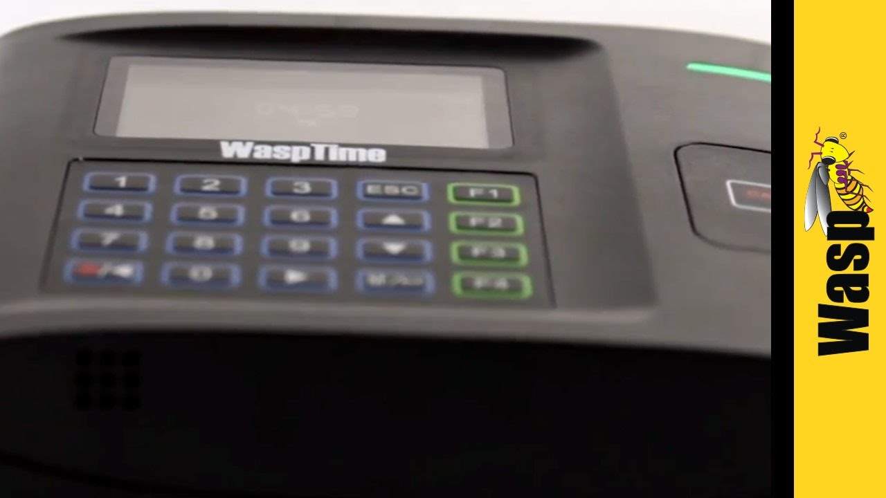 Employee Time Tracking with RFID Chip Time Clock | WaspTime