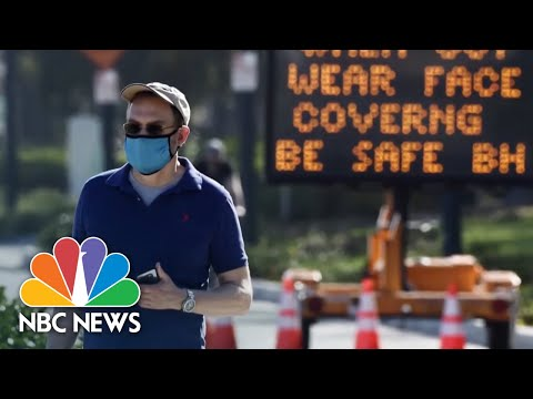 Bay Area Sees Spike In Coronavirus Cases As California Reopens   NBC News NOW