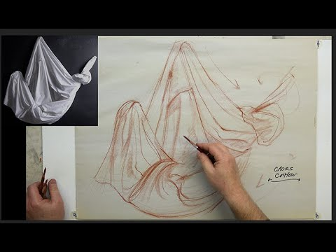 THE BASICS: Drapery II-Gesture, Structure, Cross Contour Line