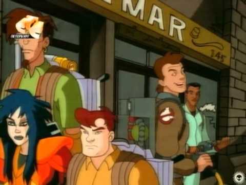 Смотреть онлайн мультфильм охотники за привидениями 1997