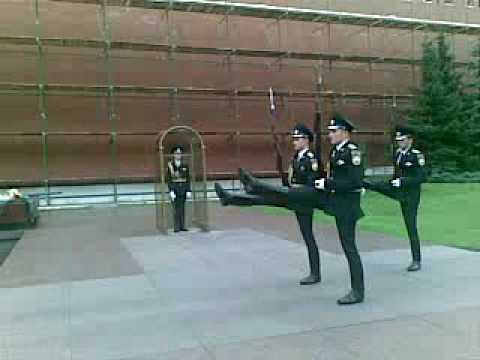 Mosca, 25.09.2009 - Cambio della Guardia al Cremlino