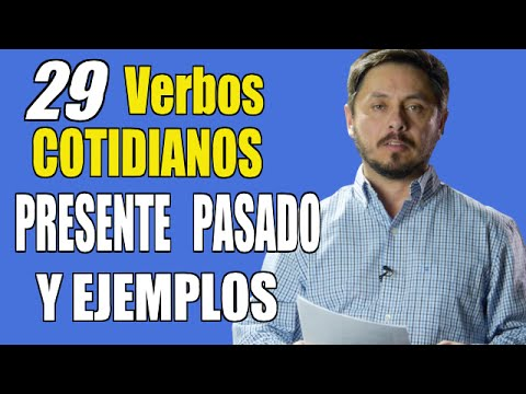 29 VERBOS EN INGLES MUY NECESARIOS DE SABER.