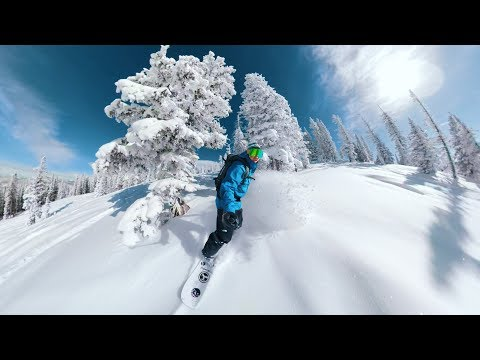 Backcountry snowboarding in Colorado w/ Abe Kislevitz