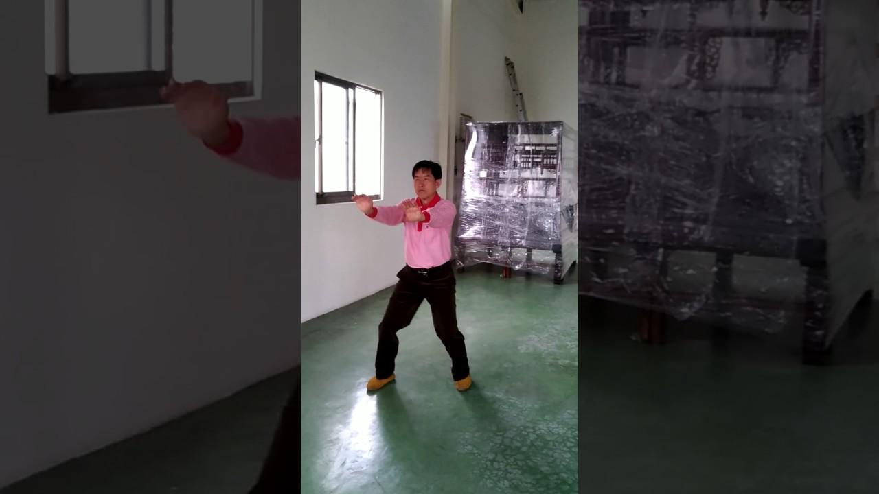 臺中西屯二高白鶴拳(鶴翅) - YouTube