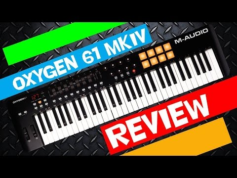 Oxygen 61 MKIV Español/English Review and configuration
