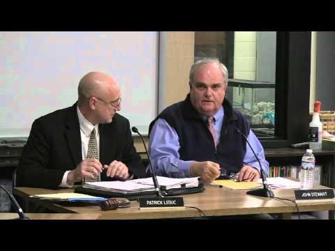 South Burlington School Board Meeting: March 16, 2016
