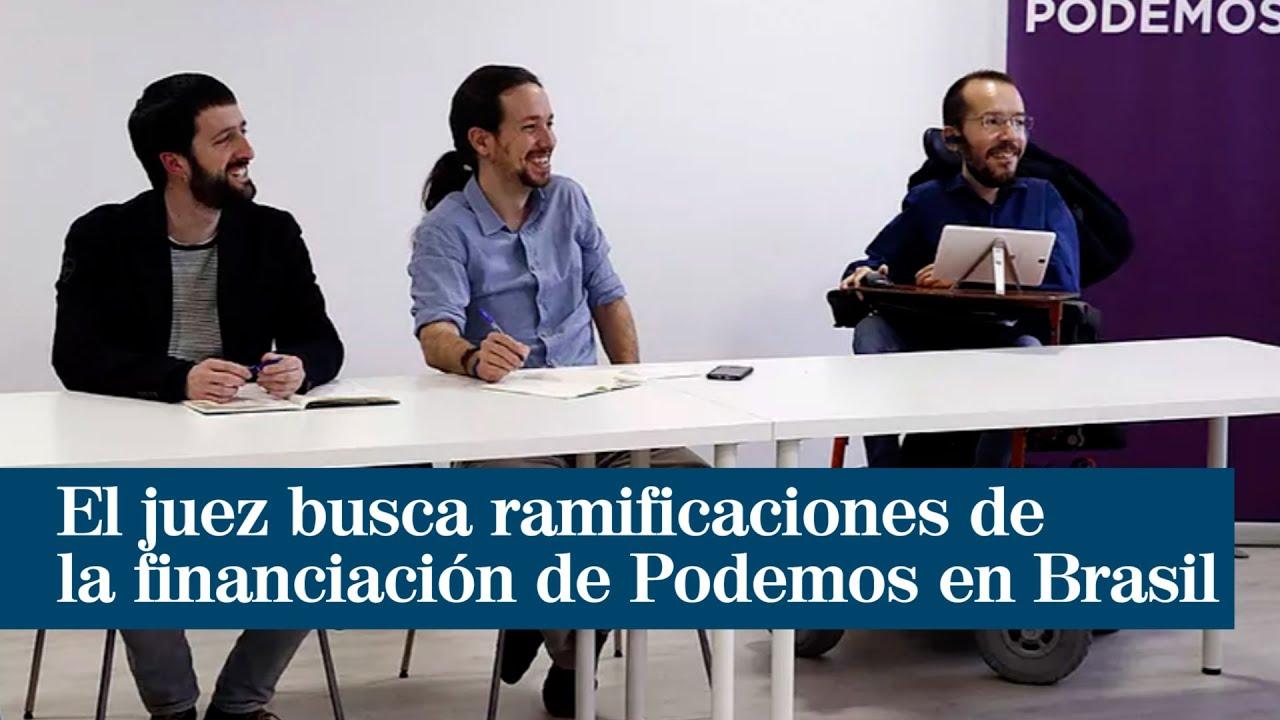 El juez busca ramificaciones de la financiación de Podemos en Brasil y sospecha de Monedero