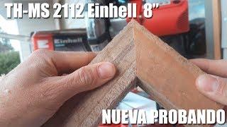 """Ingletadora Einhell TC-MS 2112 8"""" 60USD NUEVA PROBANDO Y SOLUCIONANDO ERROR"""