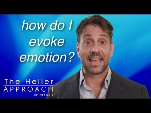 FREE ACTING LESSON: How Do I Evoke Emotion?