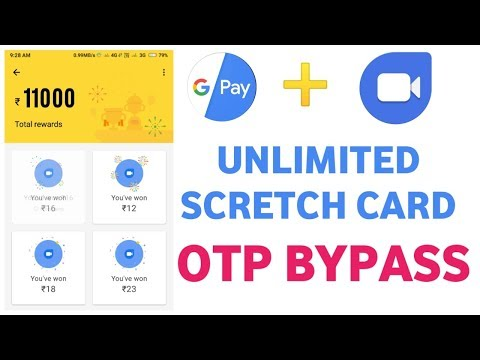 Google Pay + Google Duo OTP Bypass  Unlimited Trick !! Live 30 Scratch Card Free Trick
