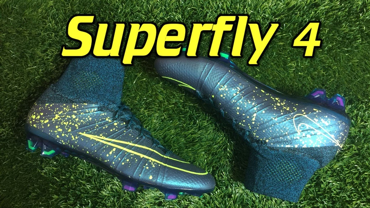 988309cb471 Nike Mercurial Superfly 4 Electro Flare Pack - Review + On Feet - YouTube