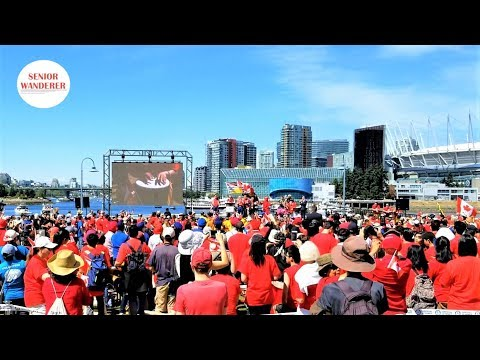 Canada Day Drumming Celebration In Vancouver 2019