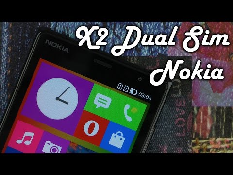 Распаковка Nokia X2 Dual Sim Black
