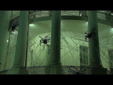 Witte Huis verandert in griezelhuis