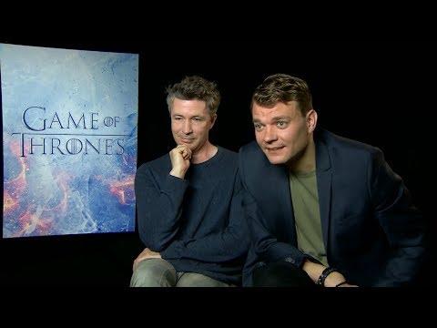 """Game of Thrones"" Season 7 interview with Aidan Gillen & Pilou Asbaek"