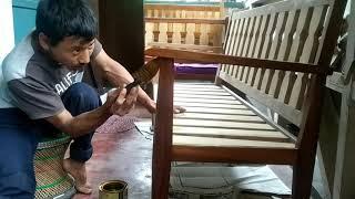 Long Chair Diy Part 2 | Naga Channel Anang | Nca