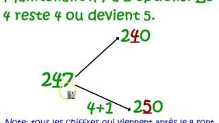 Mathématiques C M 2 : Comment arrondir les nombres entiers