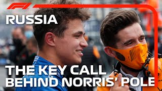 The Key Call Behind Norris' Pole