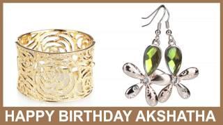 Akshatha   Jewelry & Joyas - Happy Birthday