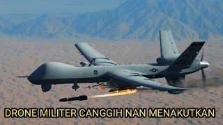 Video BIKIN TAKUT MUSUH !! 8 DRONE MILITER PALING CANGGIH DI DUNIA  - TAHUN 2019 download MP3, 3GP, MP4, WEBM, AVI, FLV Oktober 2019