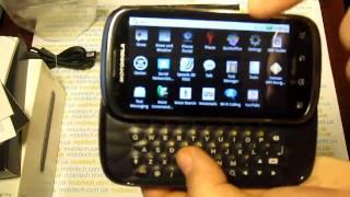 Motorola Cliq 2 - попередній огляд смартфона