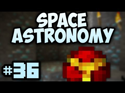 Minecraft- Space Astronomy [36] Blast Mining!