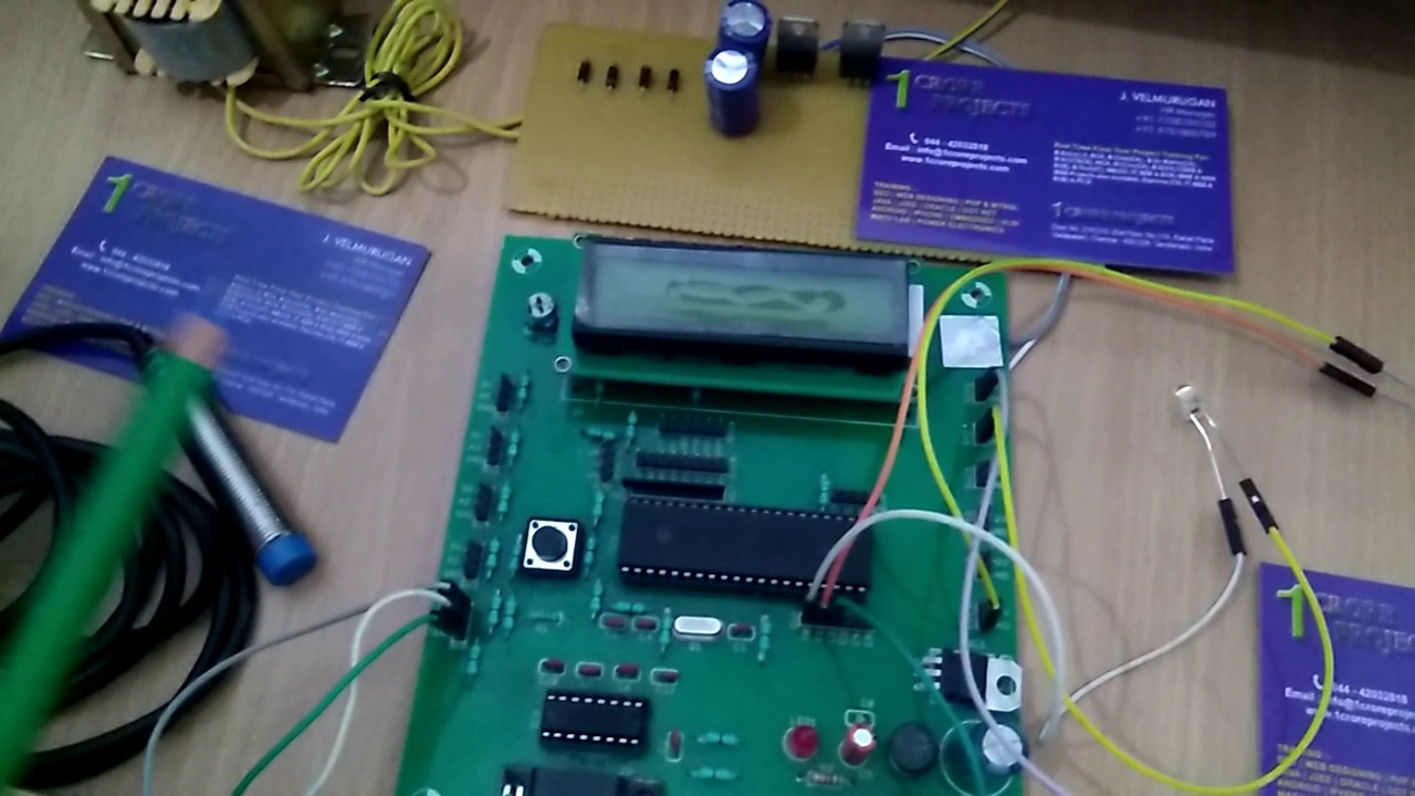 Airport Security With Automatic Door Open Close System Using Alarm 555 Timer Circuit Proximity Sensor For Bomb Detection