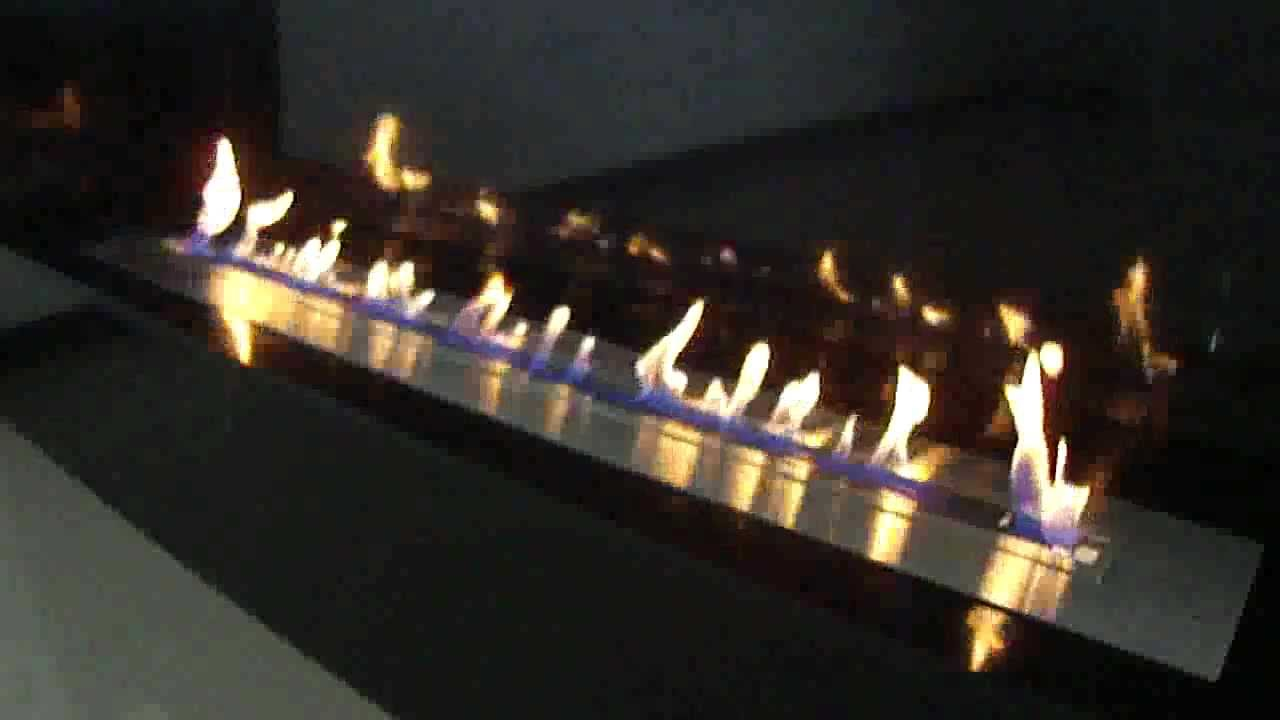 ethanol burner a fire a new vent free ethanol fireplace concept