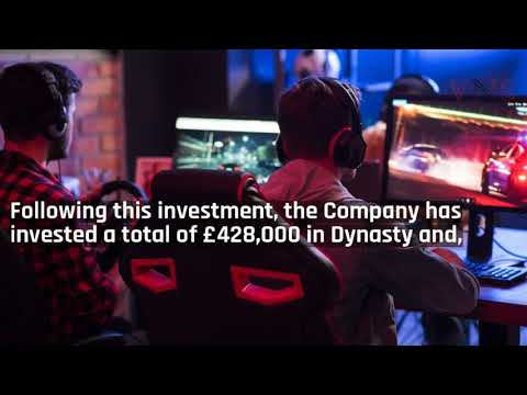 Blue Star Capital plc Dynasty Esports Investment Update
