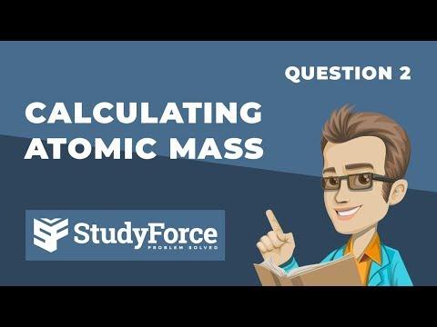 ⚗️ Calculating Atomic Mass (Part 2)