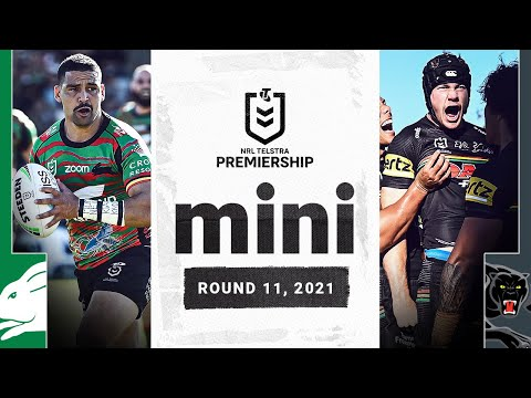 Dubbo Hosts Top Four Battle Between Rabbitohs And Panthers Match Mini Round 11 2021 Nrl Youtube