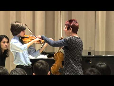 Mimi Zweig Violin Masterclass