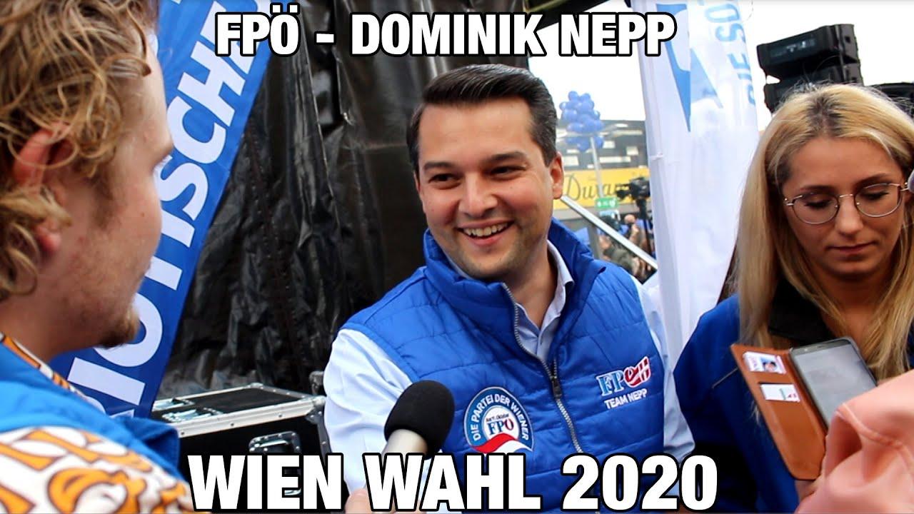 FPÖ - Wien Wahl 2020 - Dominik Nepp