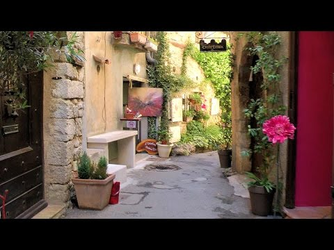 One day in Mougins, Alpes-Maritimes, Provence-Alpes-Côte d'Azur, France [HD] (videoturysta)