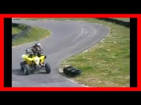 Suzuki LTR 450 Quad Racer test ride / Testbericht