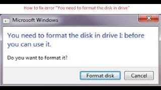 How to Fix bad sectors on Hard disk or Flash USB