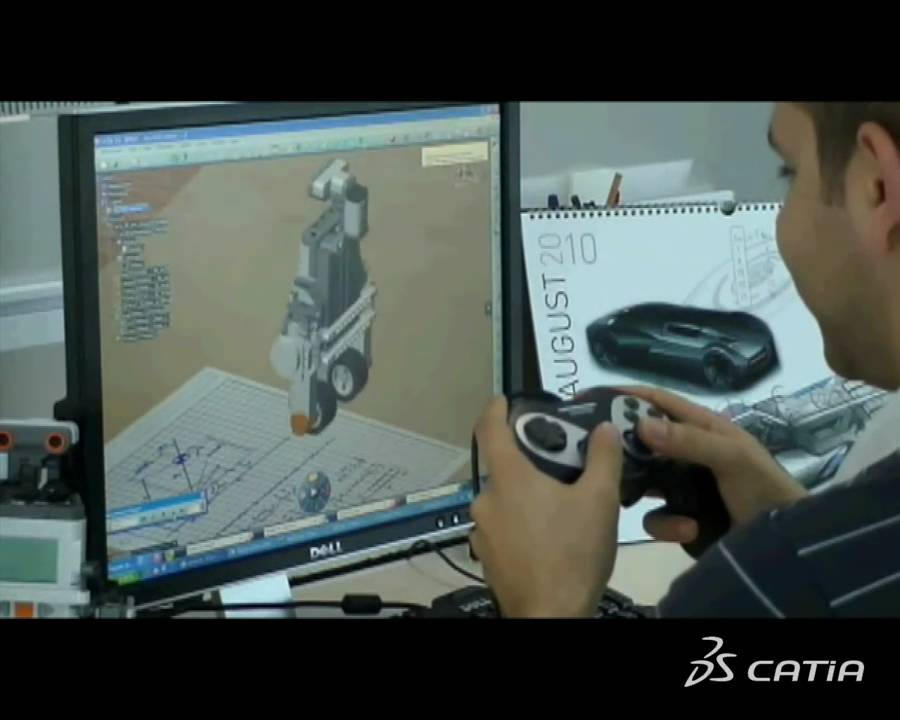CATIA V6   Systems Engineering for Education   Virtual Modeling &  Simulation of complex Systems
