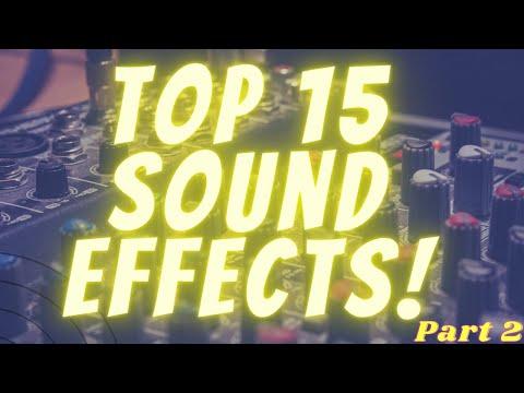 Youtuberların Kullandıkları Ses Efektleri TELİFSİZ TOP 15 Ses efektleri PART2 🔊 TOP 15 SOUND EFFECTS